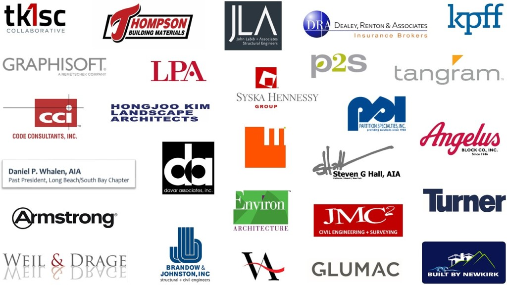 AIA LBSB Chapter Sponsors
