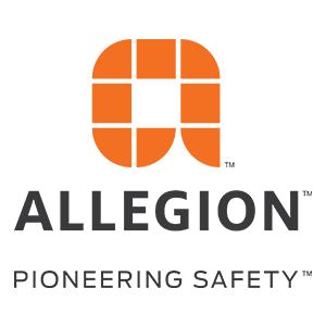 Allegion Pioneering Safety logo